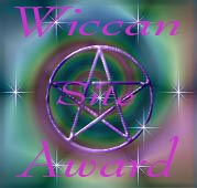 wiccan site award